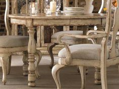Patient started shabby chic dining room table Order Your Shabby Chic Dining Room, Chic Living Room, Shabby Chic Kitchen, Shabby Chic Furniture, Dining Room Furniture, Hooker Furniture, Walnut Furniture, Hickory Furniture, Furniture Stores