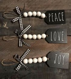 Are you searching for inspiration for farmhouse christmas decor? Check this out for cool farmhouse christmas decor inspiration. This unique farmhouse christmas decor ideas appears to be entirely brilliant. Diy Christmas Decorations Easy, Diy Christmas Ornaments, Diy Christmas Gifts, Christmas Projects, Holiday Crafts, Christmas Holidays, Stocking Ornaments, Christmas Ideas, Personalized Christmas Ornaments