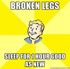 In some ways, real life would be better if it were more like Fallout. In other ways…not so much. This is one of those situations where people could definitely benefit from it. #Fallout #Humor