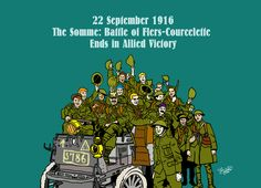 22 September 1916 - The Somme: Battle of Flers-Courcelette Ends in Allied Victory
