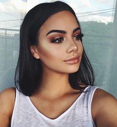 girl, fashion, and makeup Bild