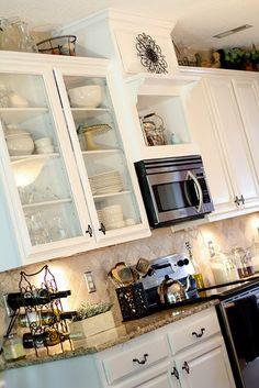 DIY kitchen cabinets makeover tutorial