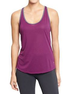 Women's Active by Old Navy Semi-Fitted Tanks | Old Navy