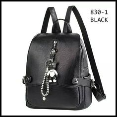 Fashion Design Women backpacks PU leather shoulder bag with little bear doll Ladies backpacks for school teenagers girls Backpack Bags, Fashion Backpack, Bear Doll, School Backpacks, Leather Shoulder Bag, Pu Leather, Shopping Bag, Purses, Teenagers