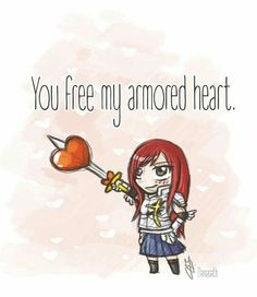 Erza, I bet this is for Jellal.