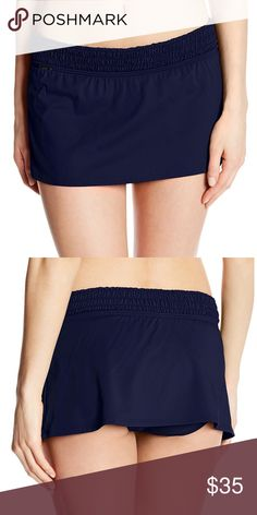 SALE LOLE Carmen Skort Evening Blue. 87% Nylon, 13% Elastane.  Chlorine resistant. EXCELLENT once used condition. Worn only one time over bathing suit for less than an hour. Washed once in cold water and hang dried. Lole Shorts Skorts