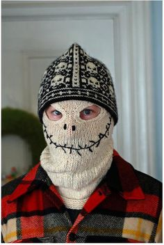 I don't want to knit this, but I would love to have one to wear to school in winter. haha