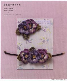Varios modelos: crochet accessories