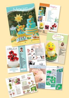 Magie des Zuckers August 2013 August 2013, Cover, Birthday, Tutorials, Wedding, Blankets
