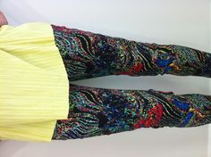 Multi colour trousers