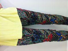 Multi colour trousers