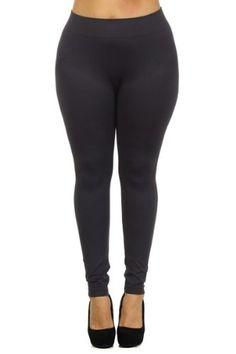 023ba3d057e38 Women s Plus Size Basic Leggings and Casual plus size nylon capri legging  perfect for walking