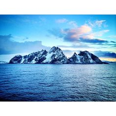 Took this earlier as we sailed between Arctic Norway's staggering snowy mountains en route to Tromsø. Wow Real Norway!! Find us on Instagram: https://instagram.com/livesharetravel/