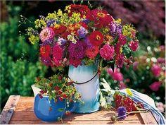 Blumenstrauß - immer ein schönes Geschenk