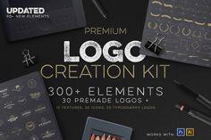 Logo Creation Kit + Bonus by Zeppelin Graphics on @creativemarket