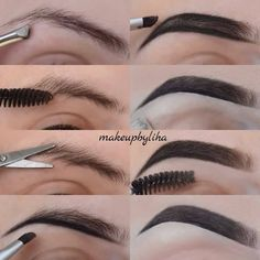 Bold Gold eye make up Eyebrow Makeup Tips, Eye Makeup Steps, Eyeshadow Makeup, Beauty Makeup, Makeup Eyes, Eyebrow Pencil, Gold Smoky Eye, Smokey Eye For Brown Eyes, Maquillage On Fleek