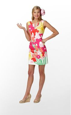 LILLY PULITZER TAYTAY DRESS 2 NWT RESORT WHITE LAVISH LILLYS PLACED #LillyPulitzer #Shift #Casual