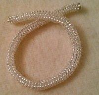 Tubular Herringbone (Ndebele) Stitch | MyAmari