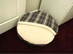 HGTV shows you how to sew a fleece dog bed to give your pooch a handmade place to rest.