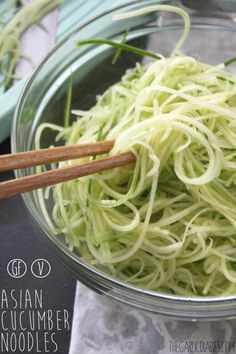 These cucumber noodles have been on my list of recipes I want to create for my blog since I started The Garlic Diaries back in September! They have been on my mind for a while now – the idea …