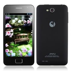 JIAYU G2 Smart Phone 1GB RAM 4.0 Inch IPS Screen Android 4.0 Dual Camera GPS Dual Sim Card - Black - Android Phones
