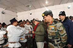 PM's surprise visit to Siachen; celebrates Diwali with officers and jawans of the Indian Armed Forces