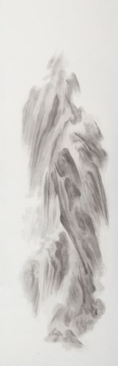 Xu Longsen, Yuan, 2011; Ink on Chinese paper, 250x80cm