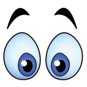 My what big eyes we have! Smiley Emoticon, Flower Pot People, Eye Stickers, Emoji Symbols, Cartoon Eyes, Clay Pot Crafts, Emoji Wallpaper, Face Expressions, Clay Pots