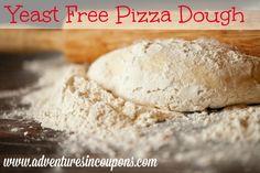 Yeast Free Pizza Dough Recipe