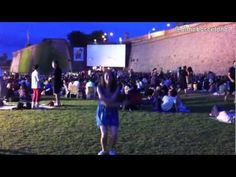 Spanish Students of Spanish School Dime (Barcelona) went with their teachers to the summer open air cinema in Montjuïc. Spanish, Barcelona, Cinema, Teacher, Student, School, Summer, Studio, Activities