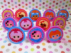 LaLaLoopsy decorations rings 12 friends by sofiabakerysupply, $3.99