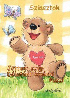 Teddy Bear, Humor, Puppies, Humour, Teddy Bears, Funny Photos, Funny Humor, Comedy, Lifting Humor