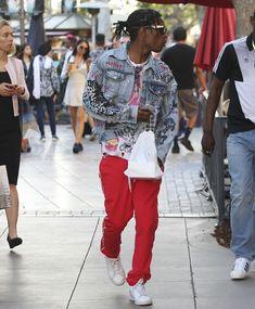 Cozy Asap Rocky Fashion Week 2016