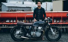 "caferacerpasion: ""Honda CB750 Cafe Racer - Anny 