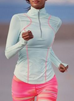Love this half zip running top @Nordstrom http://rstyle.me/n/i63mznyg6