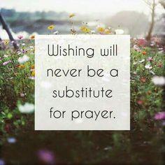 Talk to God today- say a prayer!
