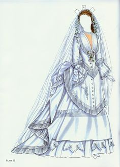 Godey's Fashion Paper Dolls 1860-1879 (Ming-Ju Sun) - Nena bonecas de papel - Picasa Web Albums