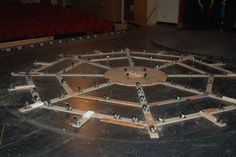 How to Make A Revolving Stage A human-powered turntable for low budget, low tech theater companies. by Peter Konopak, Allan Robins, and Jame...
