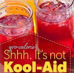 Make Cool-Aid, Not Kool-Aid Recipe With Stevia