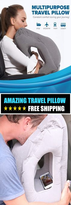 Sleepy Cloud Travel Pillow - ★★★★★ The Sleepy Cloud Travel Pillow is made using a buttery soft material for the ultimate in comfort. Its unique design provides a relaxing and restful, deep sleep while allowing you to travel comfortably in a natural Car Travel, Travel Packing, Travel Tips, Travel Ideas, Travel Hacks, Passport Travel, Camping Packing, Travel Nursing, Shopping Travel
