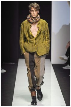 VIVIENNE WESTWOOD FALL/WINTER 2015 MENSWEAR COLLECTION: REMIXED DANDY FASHIONS ARE GENDER NEUTRAL