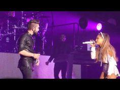Ariana Grande & Kendji Girac - One Last Time - Live Zenith Paris - Honeymoon Tour 2015 - YouTube