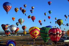 Balloon Fiesta in Albuquerque, NM