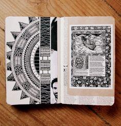 Moleskine 03, #032 Rebecca Blair Artwork