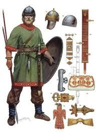 Authentic Viking Armor | two very nice examples of authentic viking clothing and arms