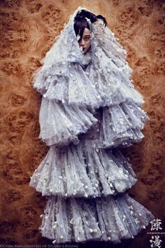 Fan Bingbing Poses for Chen Man in Embellished Style for i-D's Fall 2012 Issue | Fashion Gone Rogue: The Latest in Editorials and Campaigns