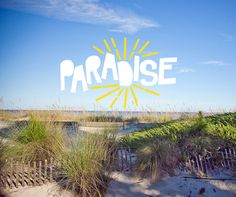 Paradise is a beautiful #beach.