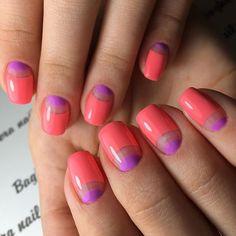 Совсем скоро новые цвета весенне-летней коллекции будут доступны для заказа на сайте www.BNAIL.PRO  Комбинированный маникюр, покрытие гель-лаком Bagheeranails, цвета из весенне-летней коллекции Bagheeranails, дизайн выполнен вручную  #negativespace