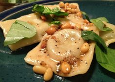 Spinach and Goat Cheese Ravioli