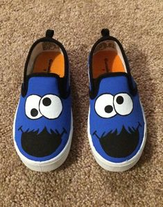 Painted Canvas Shoes, Custom Painted Shoes, Painted Sneakers, Hand Painted Shoes, Hype Shoes, On Shoes, Baby Shoes, Shoes Sneakers, Minecraft Shoes